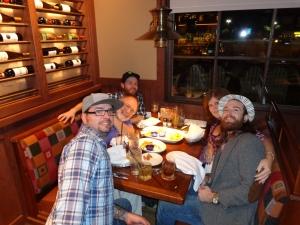 Tyler, Hubs, Kud, me, Miles