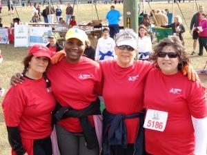 me, Shayla, Jane, Alisha